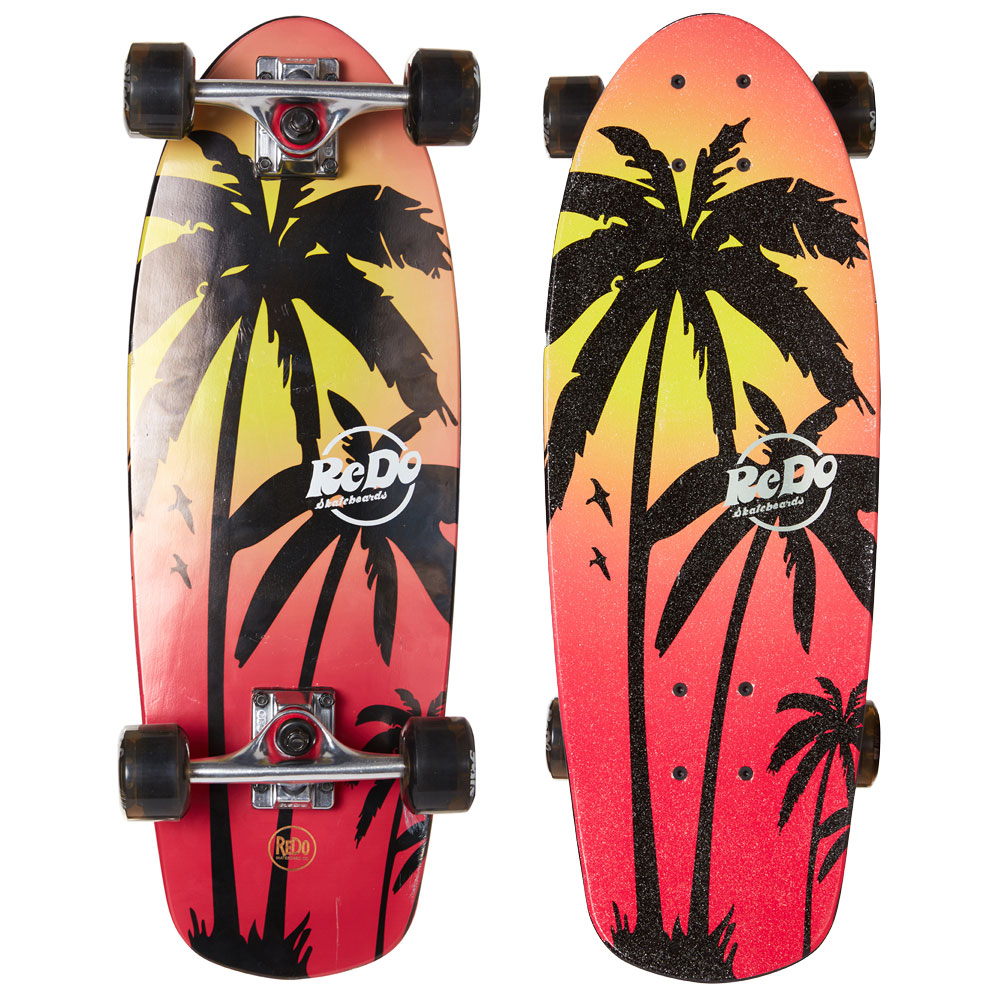 Shorty Cruiser Pink Palm Board